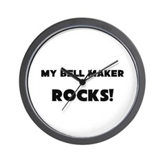 MY Bell Maker ROCKS! Wall Clock