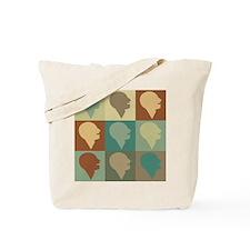 Speech Language Pathology Pop Art Tote Bag