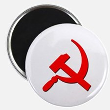 Soviet Retro Hammer and Sickle Magnet