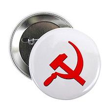 Soviet Retro Hammer and Sickle Button