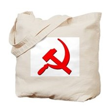 Soviet Retro Hammer and Sickle Tote Bag