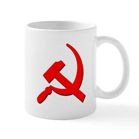 Soviet Retro Hammer and Sickle Mug