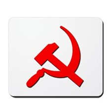 Soviet Retro Hammer and Sickle Mousepad