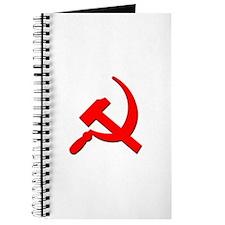 Soviet Retro Hammer and Sickle Journal