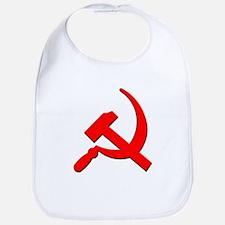 Soviet Retro Hammer and Sickle Bib