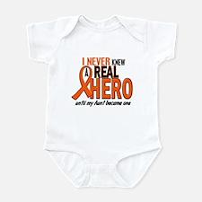 Never Knew A Hero 2 ORANGE (Aunt) Onesie