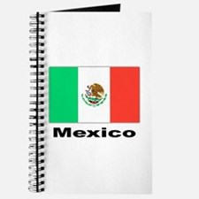 Mexico Mexican Flag Journal