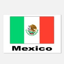 Mexico Mexican Flag Postcards (Package of 8)