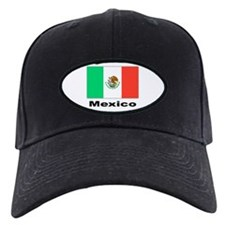 Mexico Mexican Flag Baseball Cap