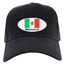 Mexico Mexican Flag Baseball Hat