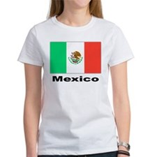 Mexico Mexican Flag (Front) Tee