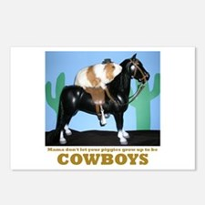 Guinea Pig Cowboys! Postcards (Package of 8)