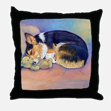 Pembroke Welsh Corgi Throw Pillow