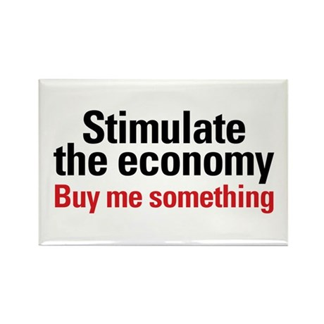 Stimulate The Economy Rectangle Magnet (10 pack)