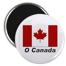 O Canada Flag Magnet