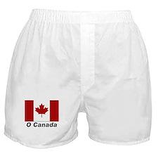O Canada Flag Boxer Shorts