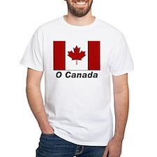 O Canada Flag (Front) Shirt