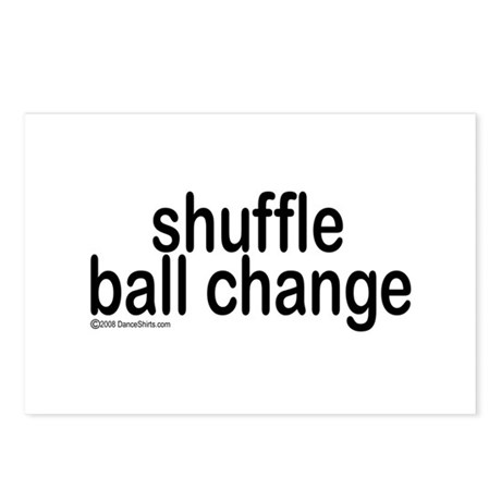 Shuffle Ball Change Postcards (Package of 8)