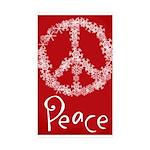 peace Sticker (Rectangle 10 pk)