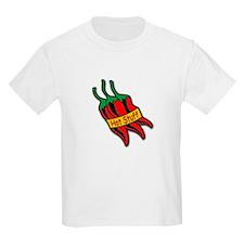 Hot Stuff Pepper (Front) Kids T-Shirt