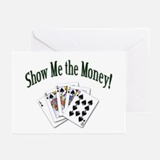 Show Me Money Poker Greeting Cards (Pk of 10)