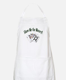 Show Me Money Poker BBQ Apron