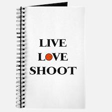Live, Love, Shoot (Basketball) Journal