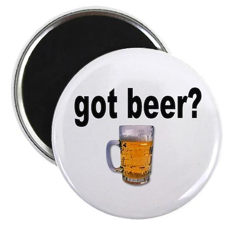 got beer? for Beer Lovers Magnet