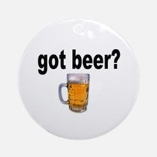 got beer? for Beer Lovers Keepsake (Round)