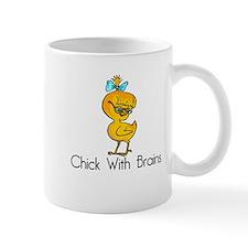 Chick with Brains Mug