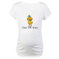 Chick with Brains Shirt