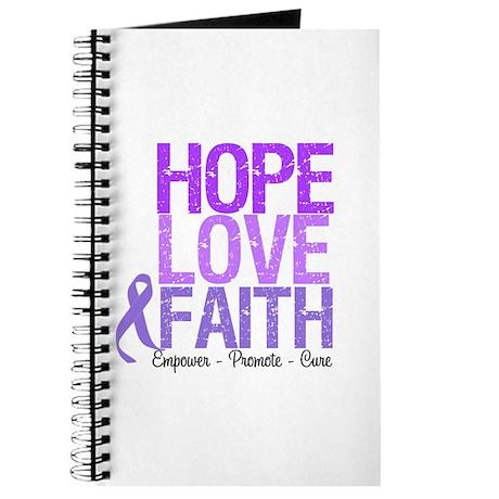 Hodgkin's Hope Love Faith Journal