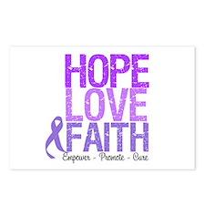 Hodgkin's Hope Love Faith Postcards (Package of 8)