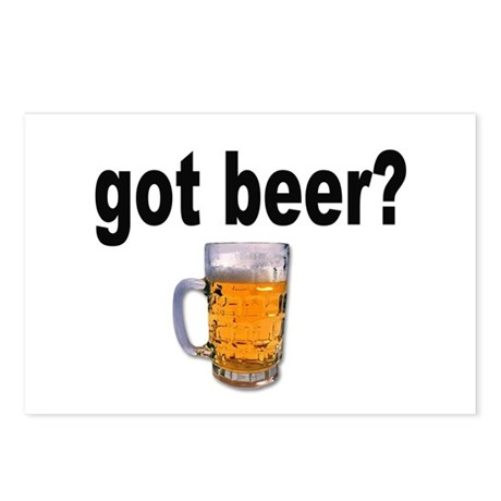 got beer? for Beer Lovers Postcards (Package of 8)