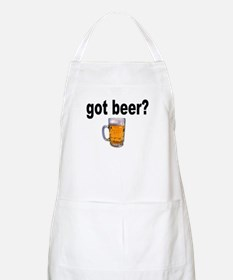 got beer? for Beer Lovers BBQ Apron