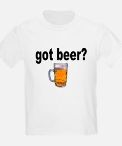 got beer? (Front) Kids T-Shirt