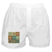Soccer Pop Art Boxer Shorts