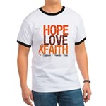 LEUKEMIA Hope Love Faith Ringer T