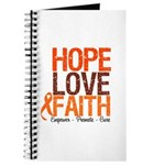 LEUKEMIA Hope Love Faith Journal