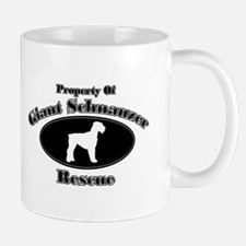 Property of Giant Schnauzer R Mug