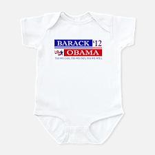 Obama 2012 Infant Bodysuit
