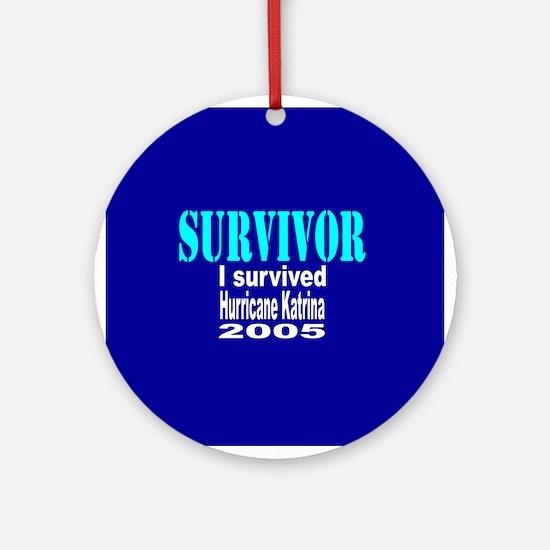 Hurricane Katrina Survivor Keepsake (Round)