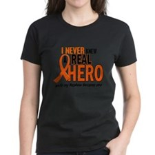 Never Knew A Real Hero 2 ORANGE Tee