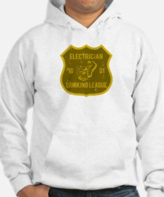 Electrician Drinking League Hoodie