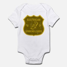 Electrician Drinking League Infant Bodysuit