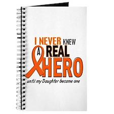 Never Knew A Hero 2 ORANGE (Daughter) Journal