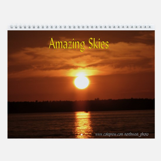 Amazing Skies Wall Calendar