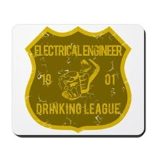 Electrical Engineer Drinking League Mousepad