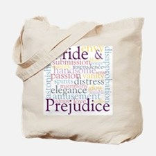 Pride, Prejudice Tote Bag
