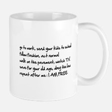 I am Free Mug